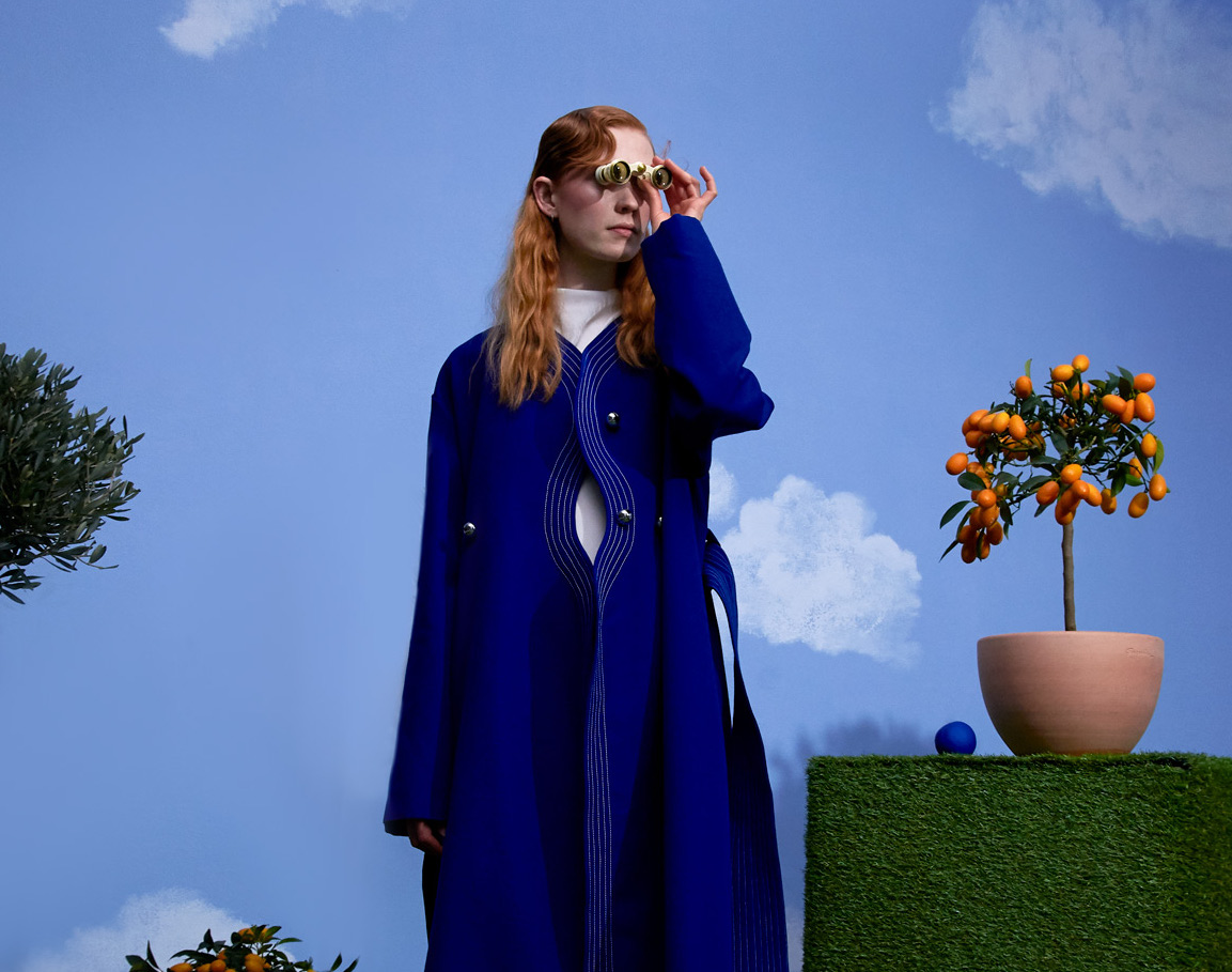 Look from Mazarine Fall-Winter 21-22 collection