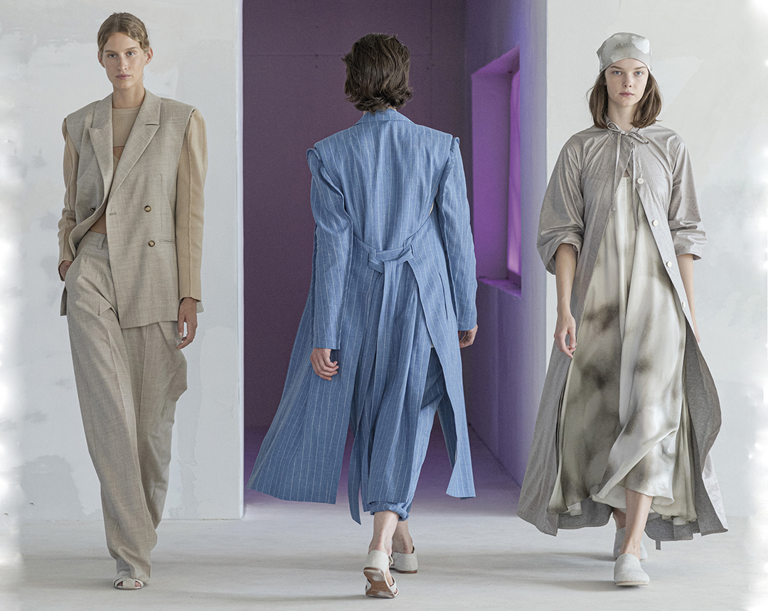 Looks from Nehera Spring-Summer 2022 collection