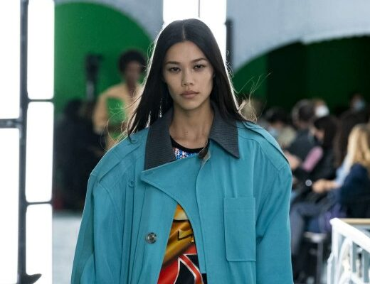 Look from Louis Vuitton's Spring Summer 2021 collection
