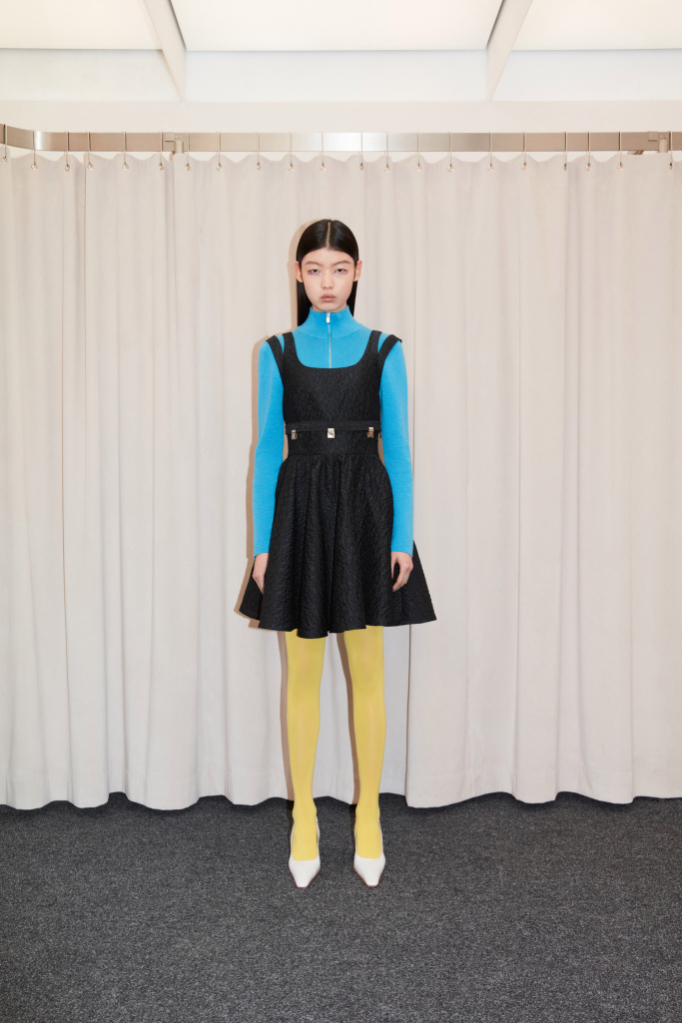 Look from Calvin Luo's Autumn-Winter 2021-2022 collection