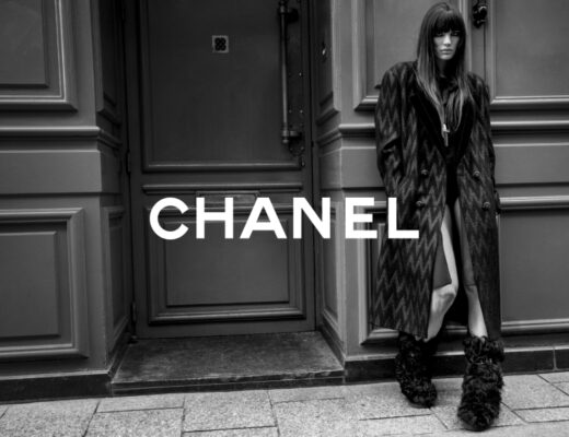 Look from Chanel's Autumn-Winter 2021-2022 collection