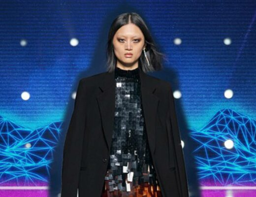 Look from Givenchy's Autumn-Winter 2021-2022 collection