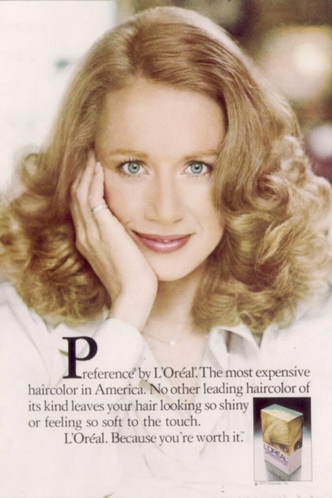 This image has an empty alt attribute; its file name is Joanne-Dusseau-shot-by-LOreal-Paris-for-LOreal-Paris-Preference-Hair-Colour-4-683x1024.jpg