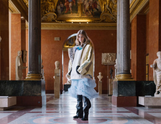 Look from Louis Vuitton's Autumn-Winter 2021-2022 collection