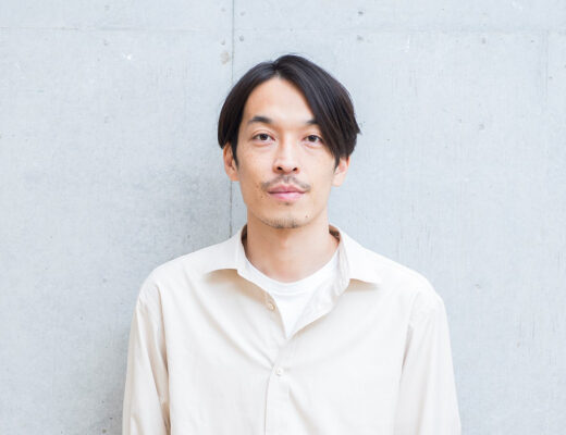 Portrait of Ryota Iwai, artistic director of Auralee