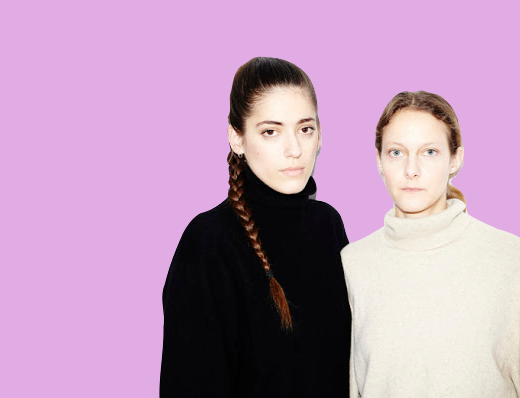 Portrait of Christa Bosch and Cosima Gadient, artistic directors of Ottolinger