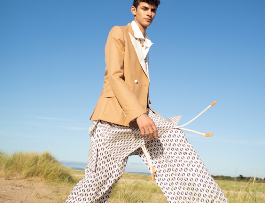 Look from Valette Studio's Spring-Summer 2022 collection