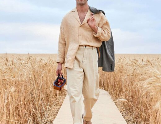 Look from Jacquemus' Spring-Summer 2021 collection