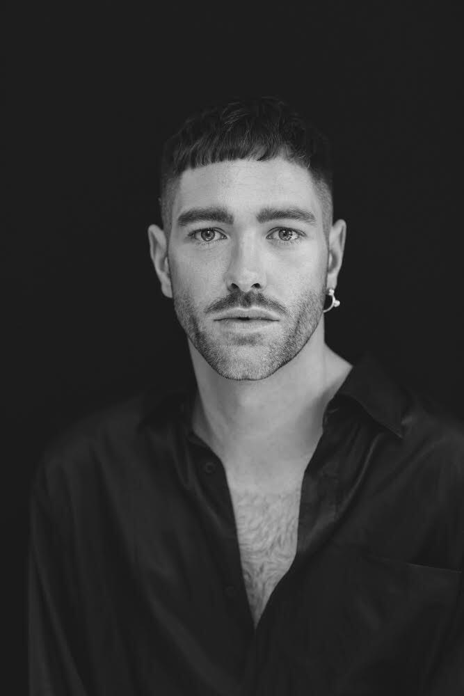 Portrait of Tyler Franch, Vice President Fashion Director at Hudson's Bay & The Room